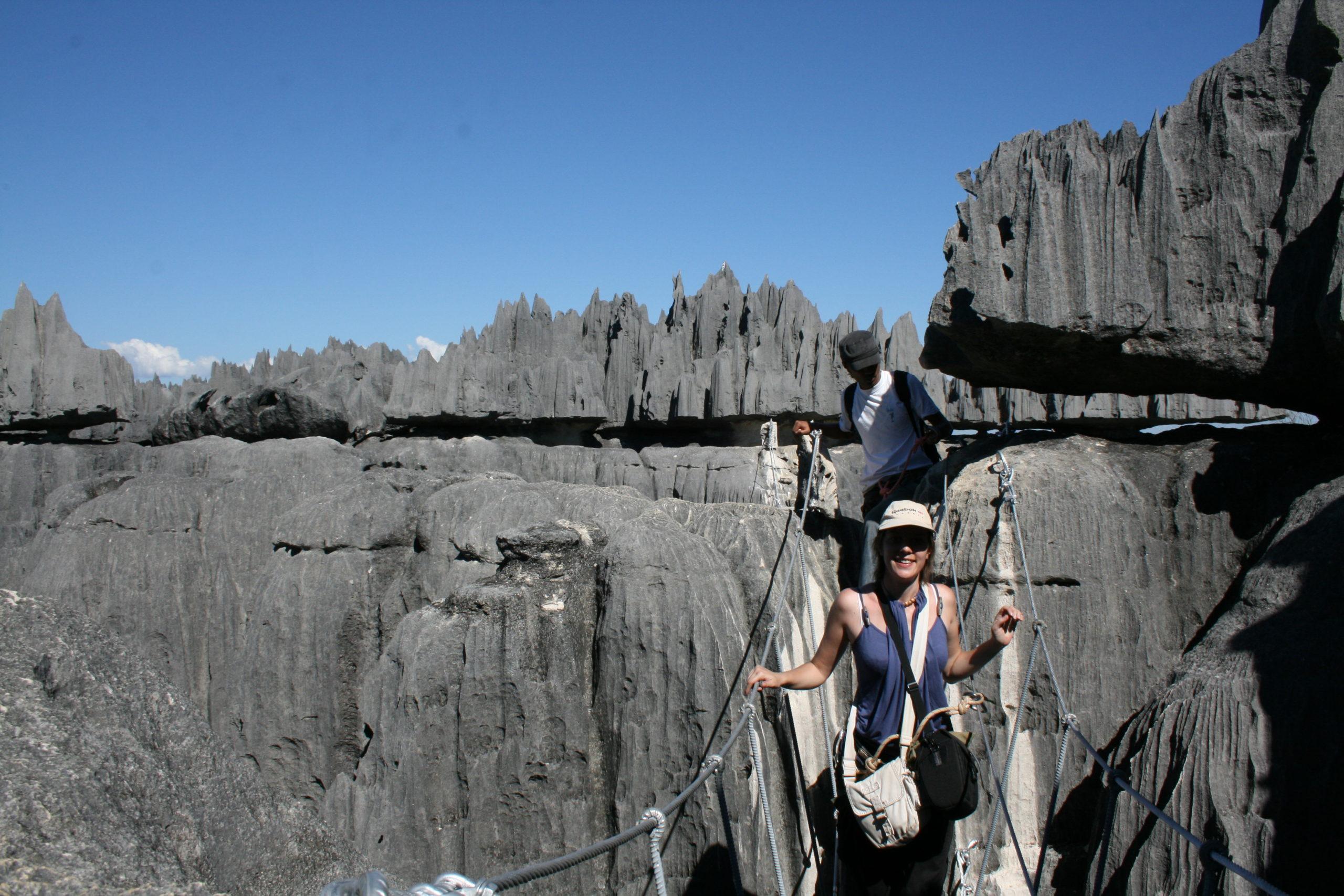 Randonnée dans le parc des Tsingy de Bemaraha