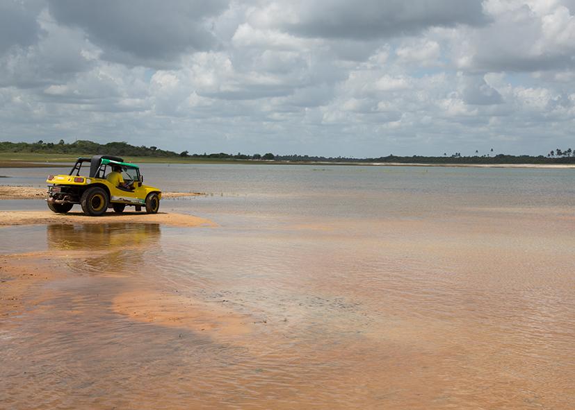 Aventure en buggy sur les plages du Nordeste