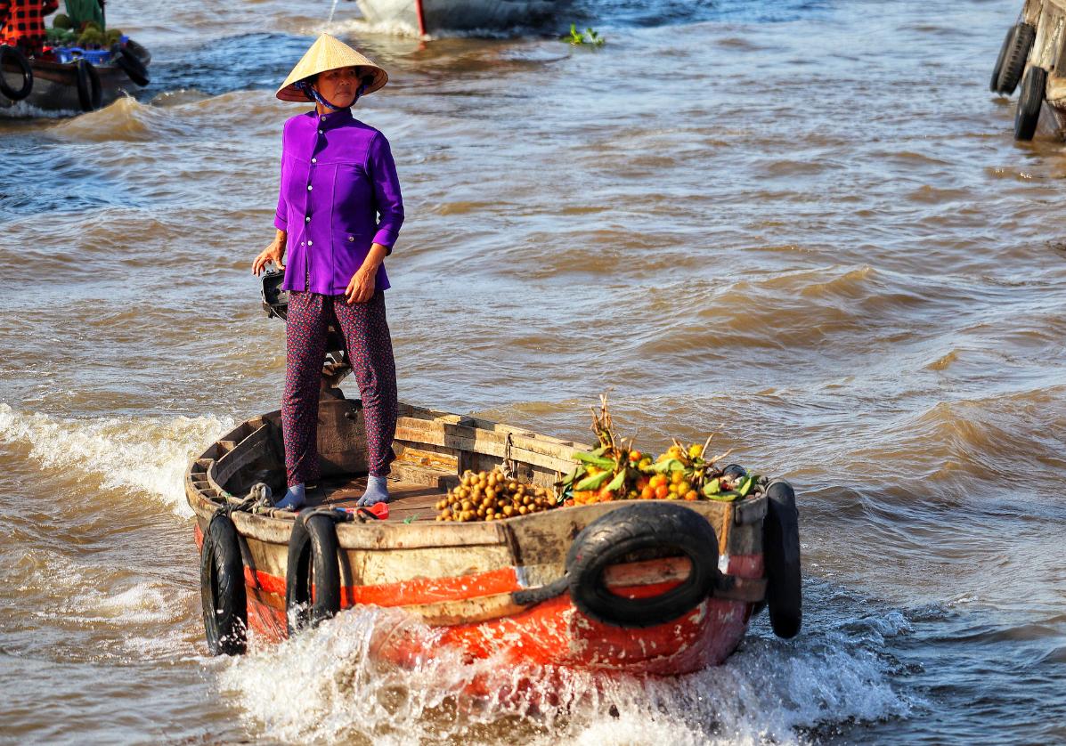 Départ pour le Delta du Mekong