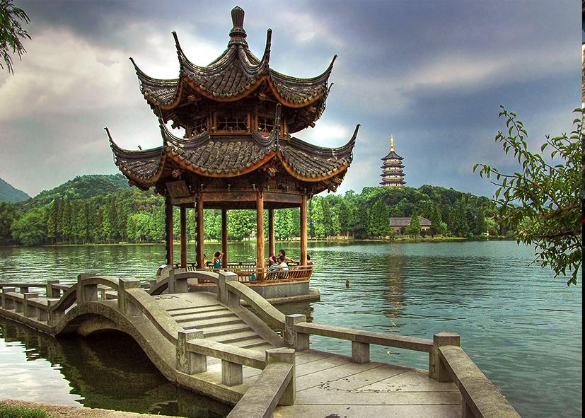 Pagode des Six Harmonies à Hangzhou