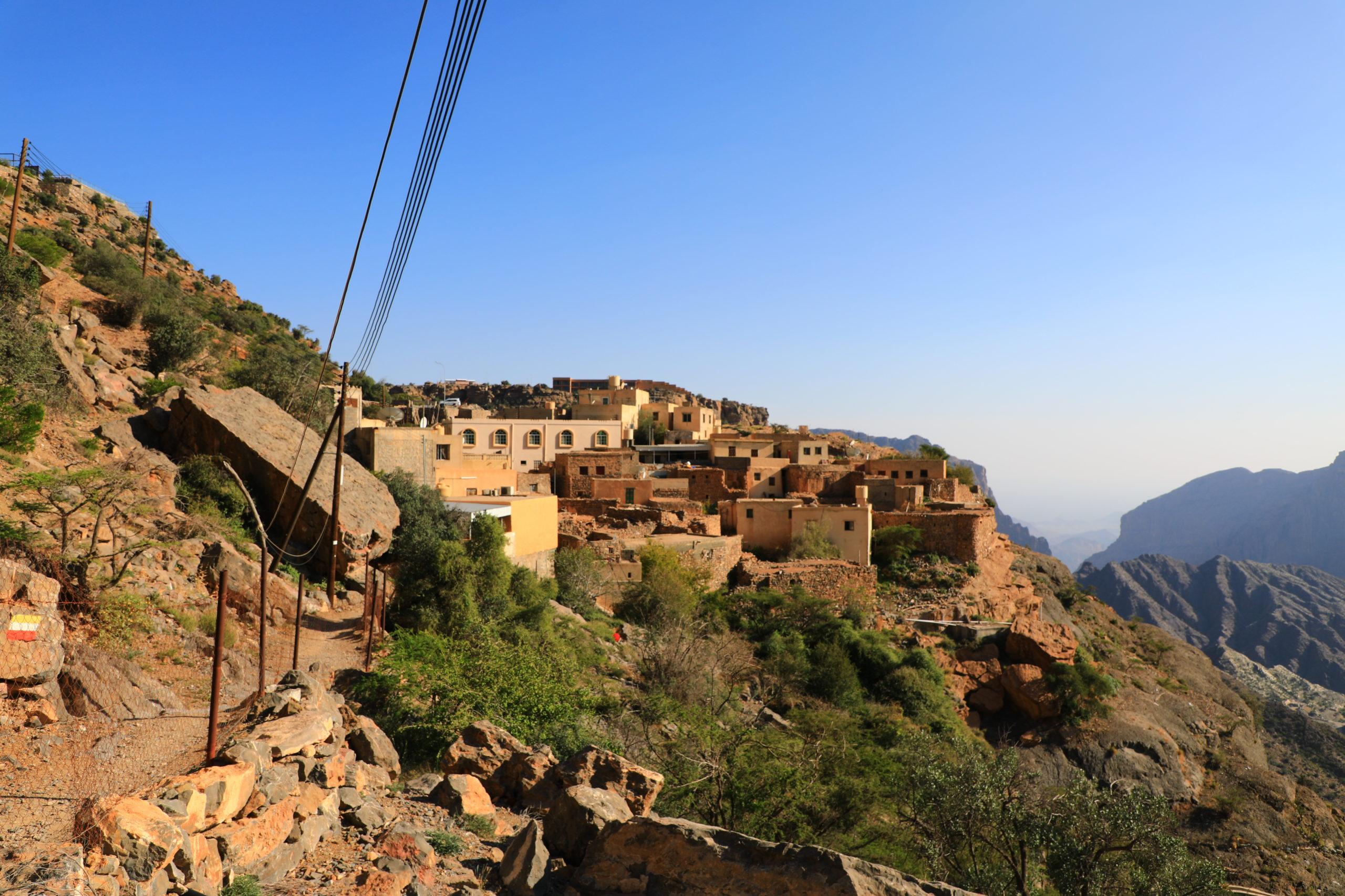 Le massif du Jabal Al Akhdar