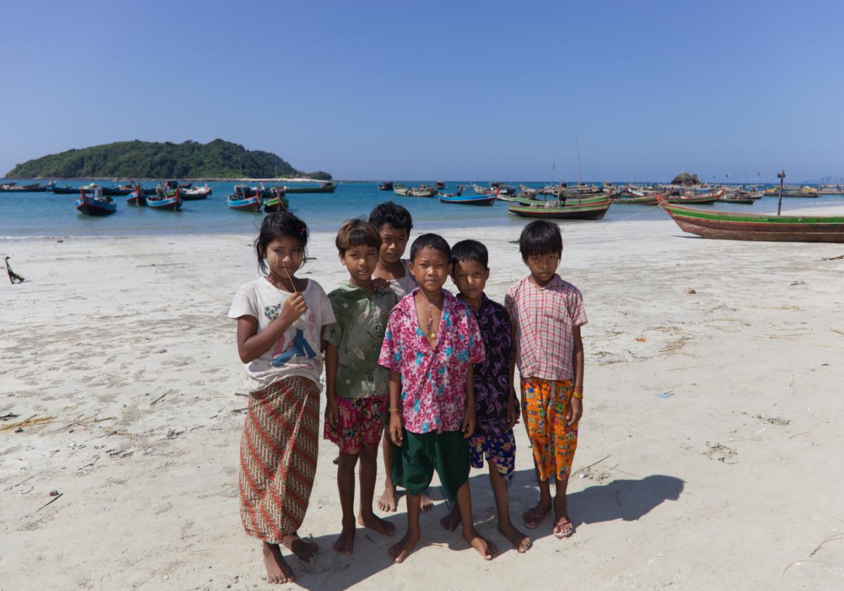 Village des pêcheurs à Ngapali