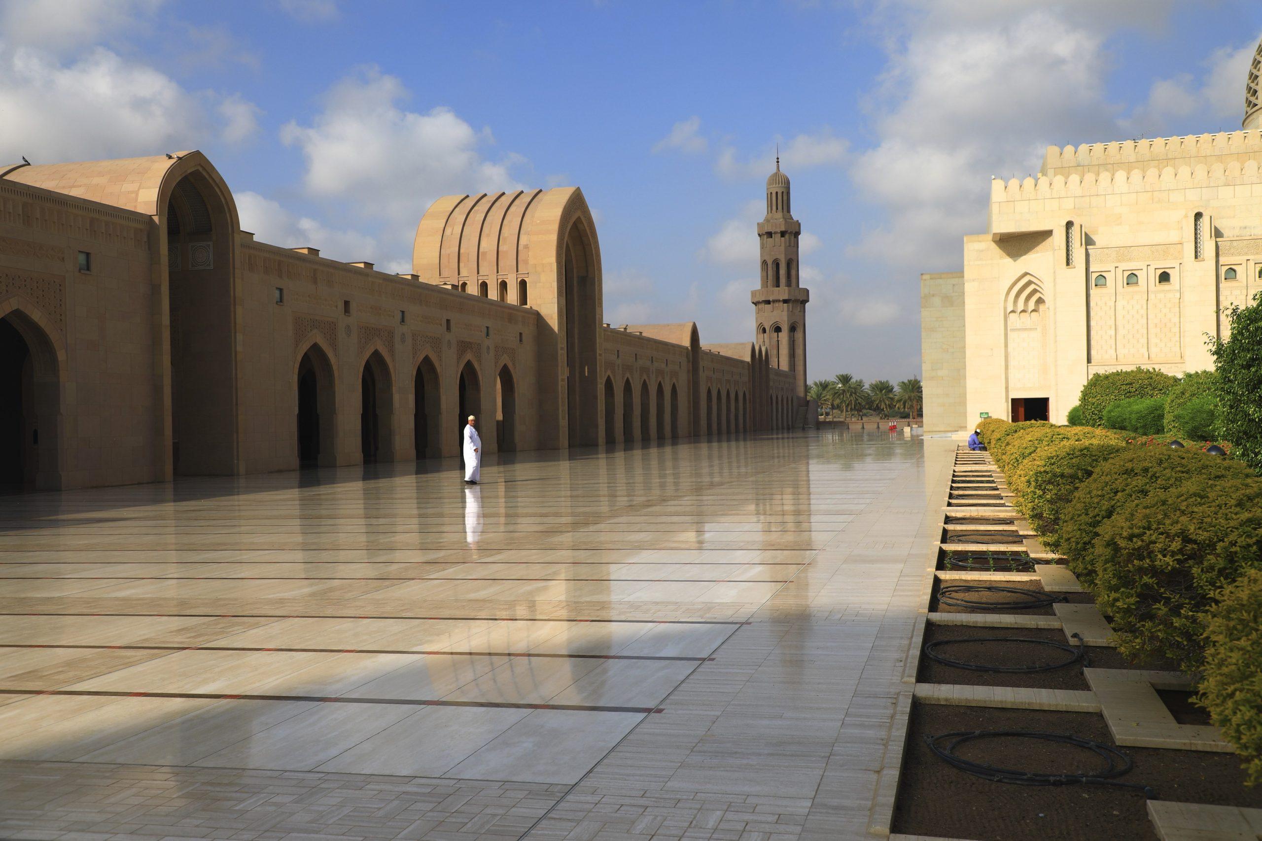 Mascate, la Grande Mosquée, le palais du Sultan
