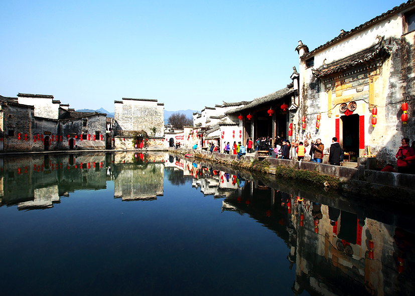 Quartier traditionnel à Wuzhen