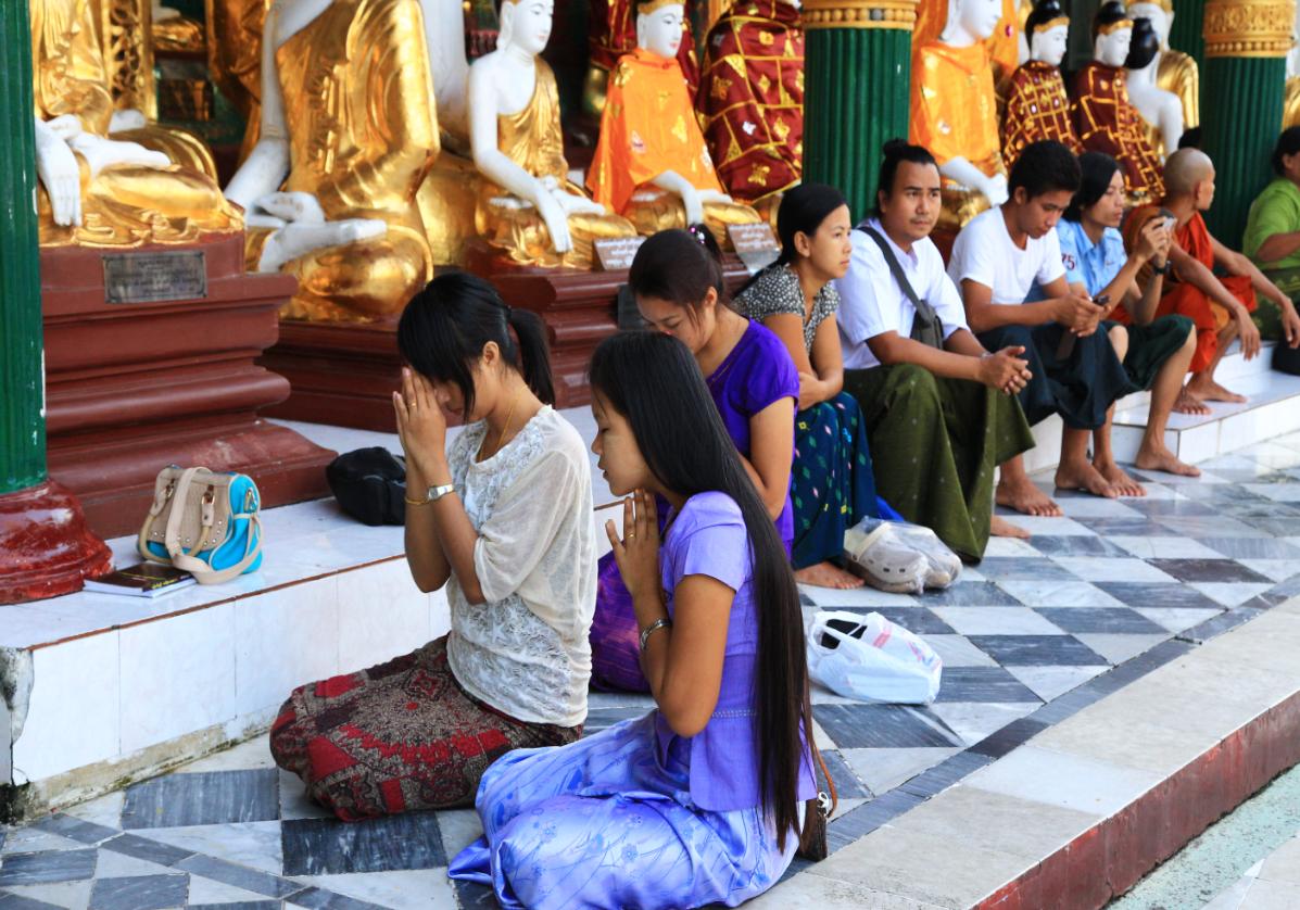 Yangon rencontre avec les birmans