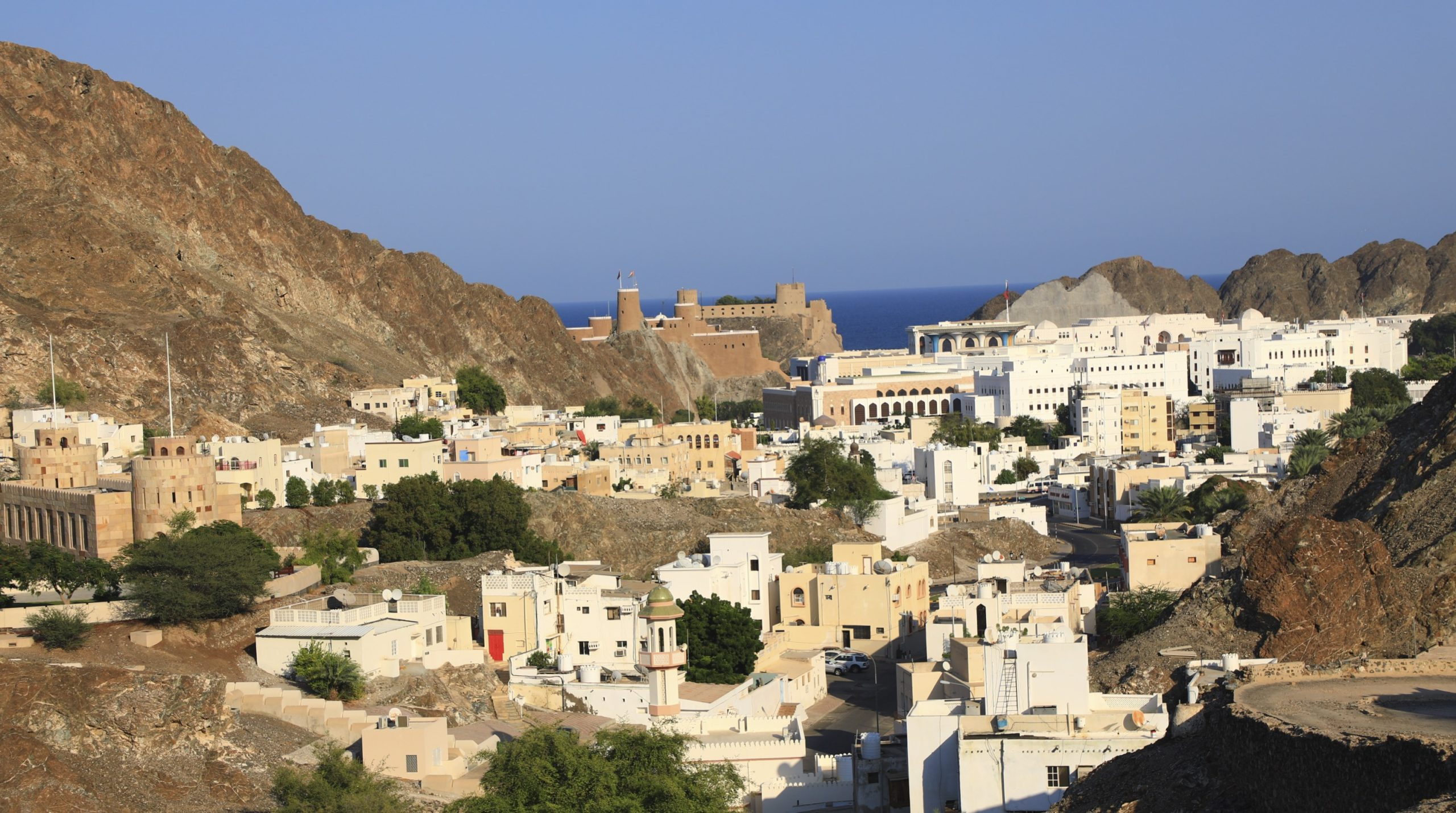 Le fort Almirani de Mascate