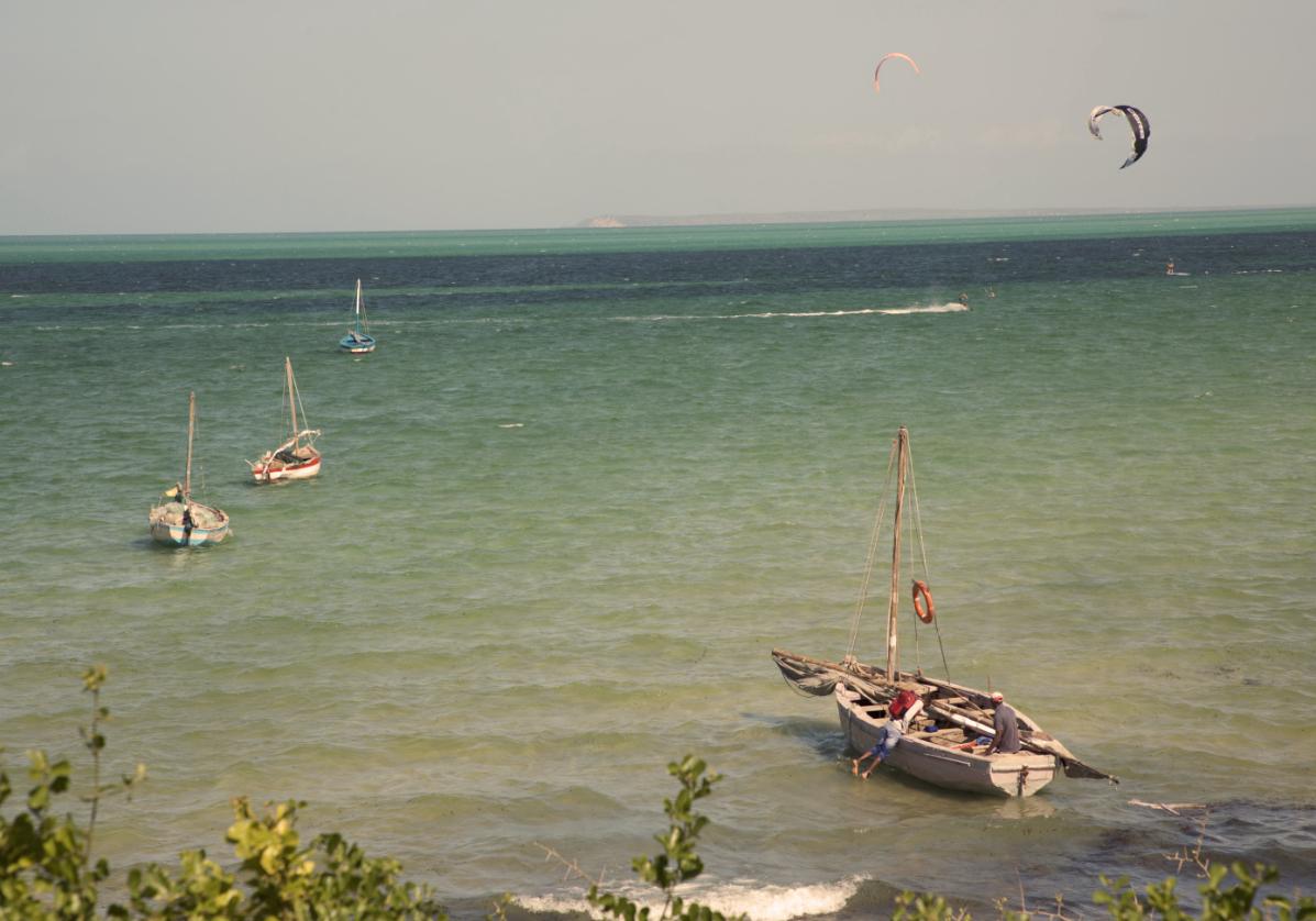 Coucher de soleil sur les iles