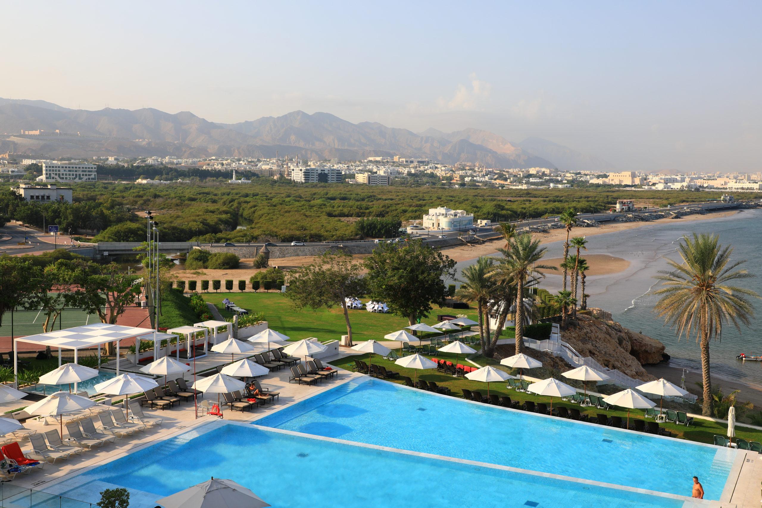 Crowne Plaza Muscat, cadre de luxe