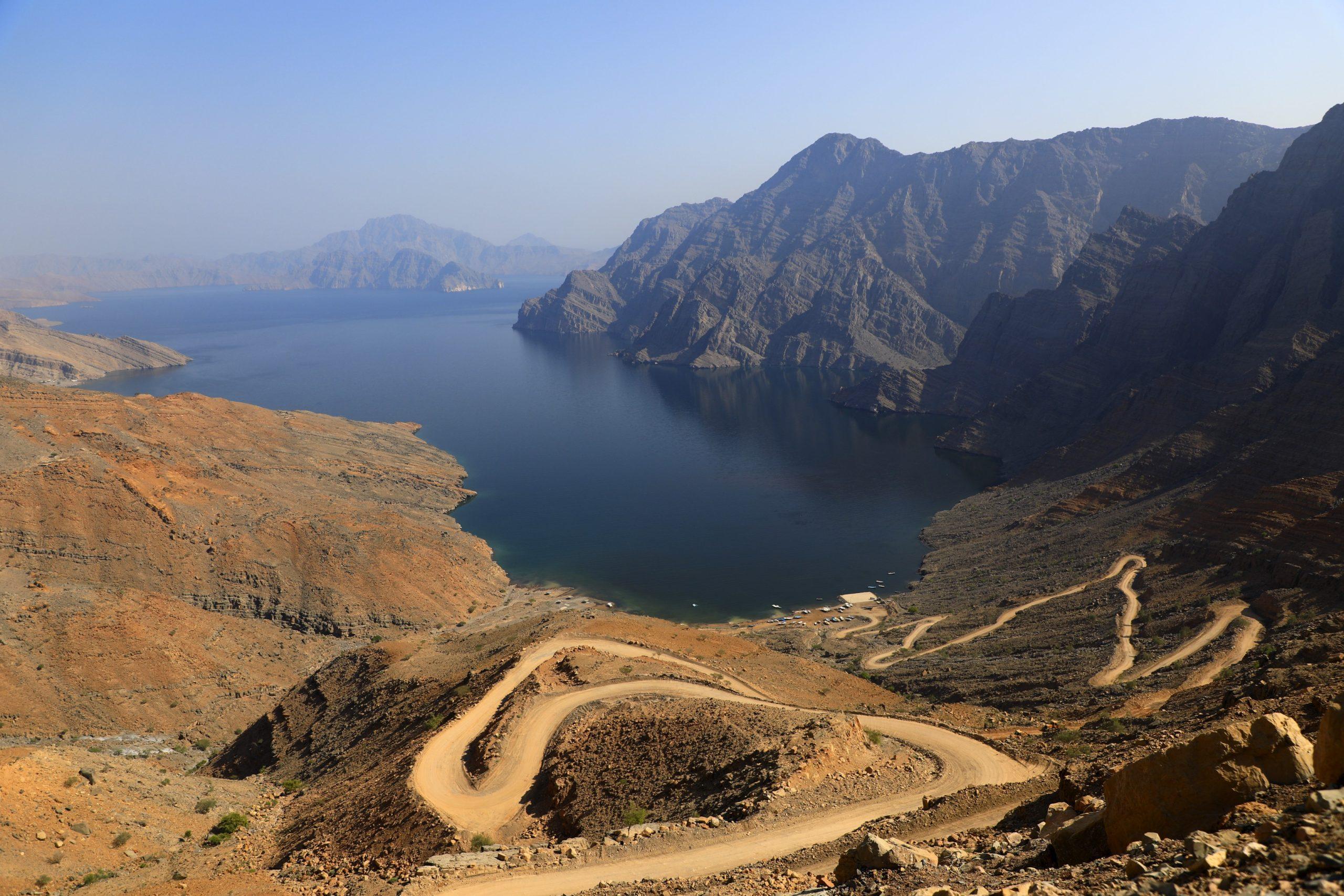 Fjord de Jebel Harim dans la péninsule de Musandam