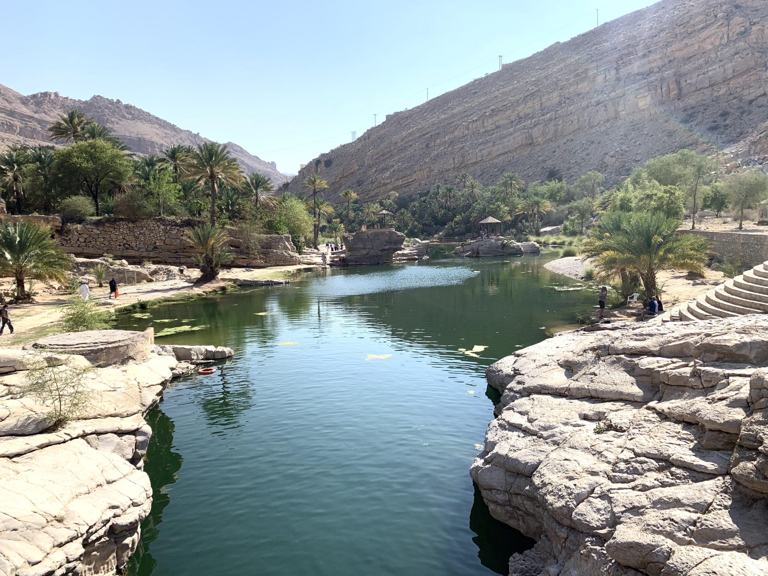Wadi Bani Khalid, oasis aux portes du désert