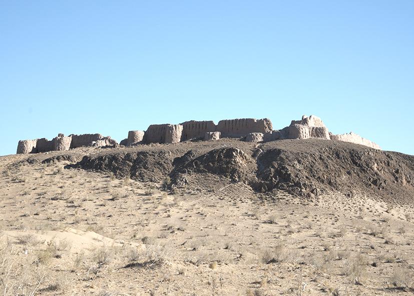 La forteresse de Ayaz Kala