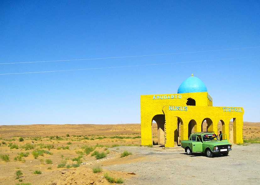 Traversée du désert de Kizil Koum