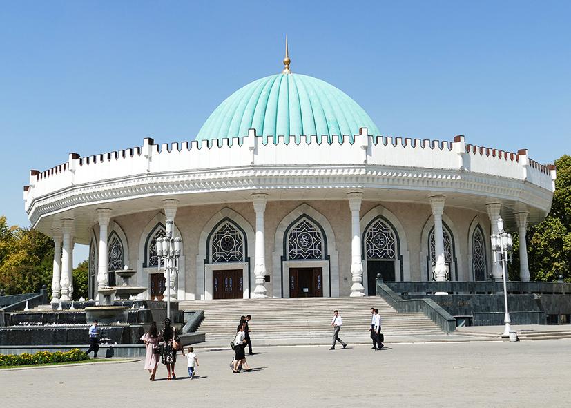 Musée Amir Temur à Tachkent