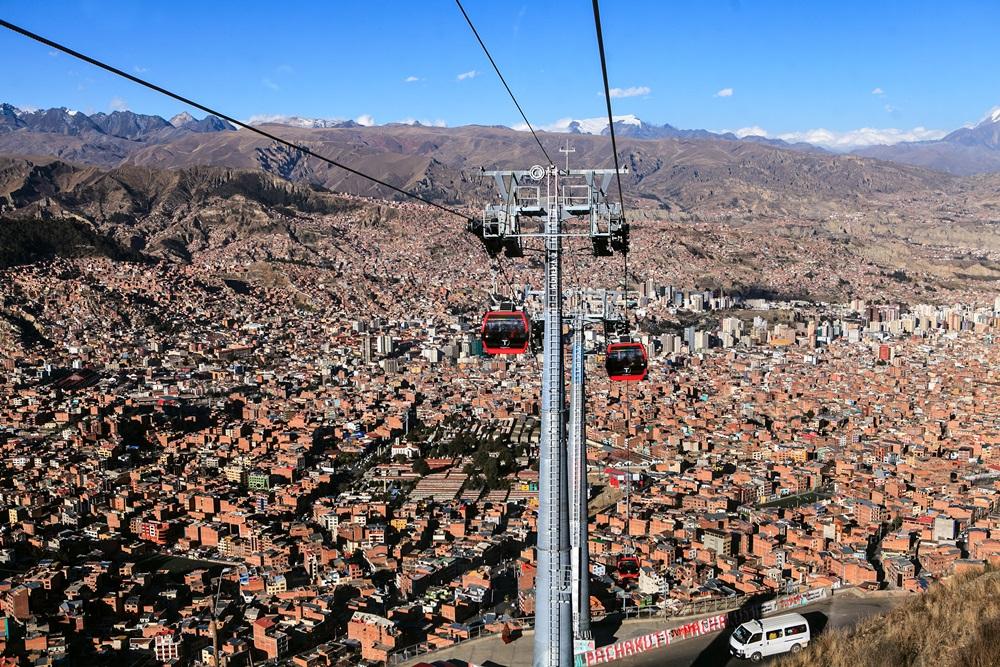 Aéroport El Alto- La Paz