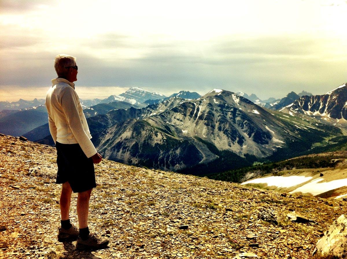 Randonnée dans la Canyon Maligne du parc de Jasper