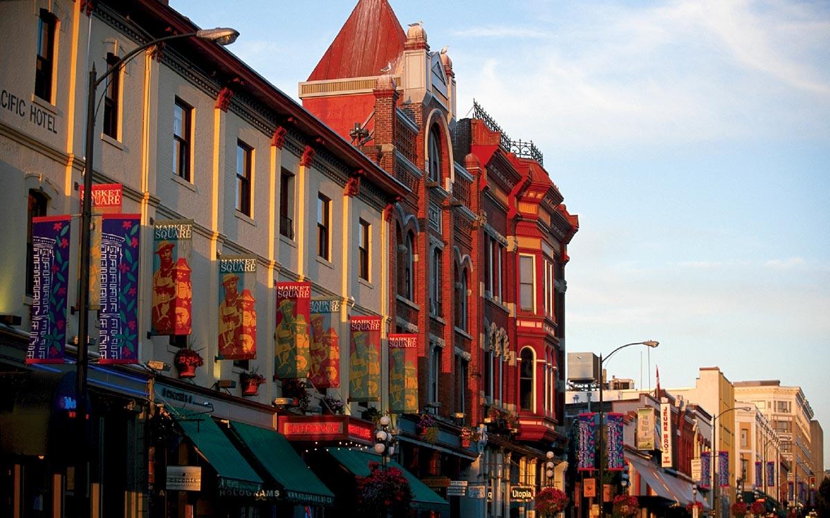 Les belles façades de Victoria