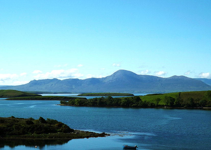 Paysage du lac Corrib