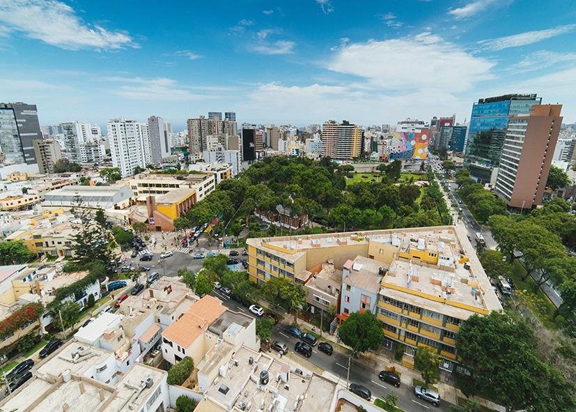 La ville moderne de Lima