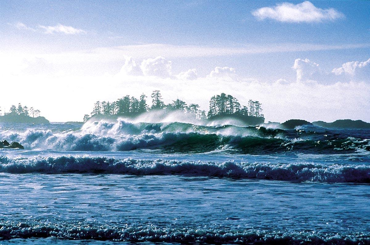 Les plages de Pacific Rim
