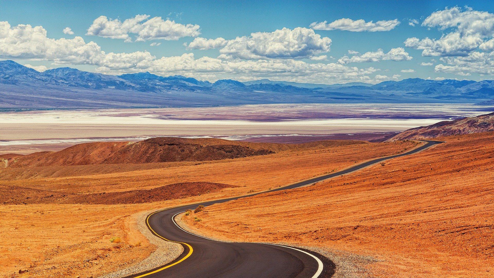 Le désert de la Vallée de la Mort