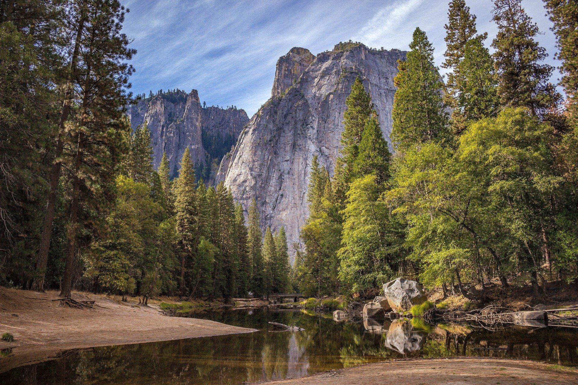 Randonnée dans le Parc National de Yosemite