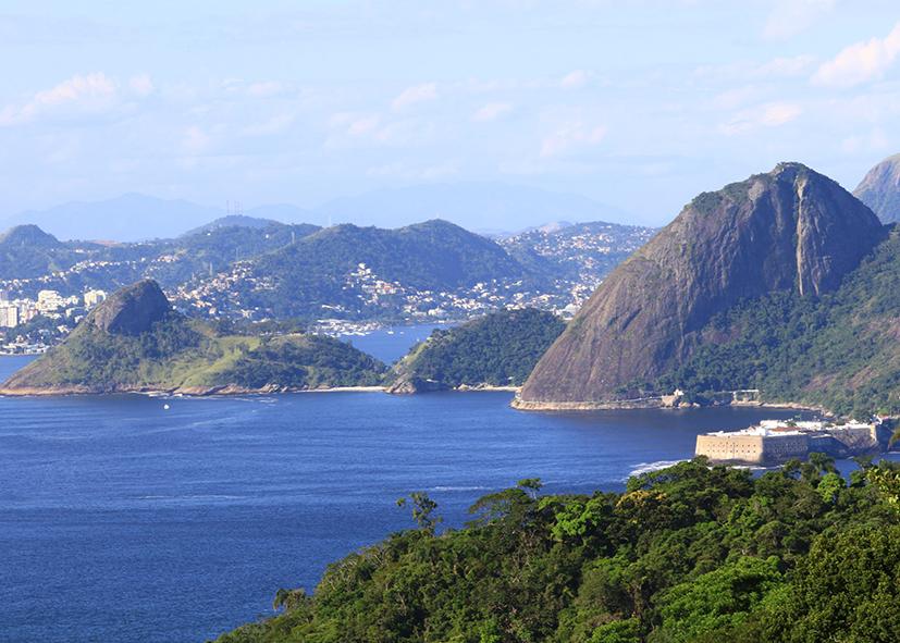 Tour des plages de la baie de Rio de Janeiro