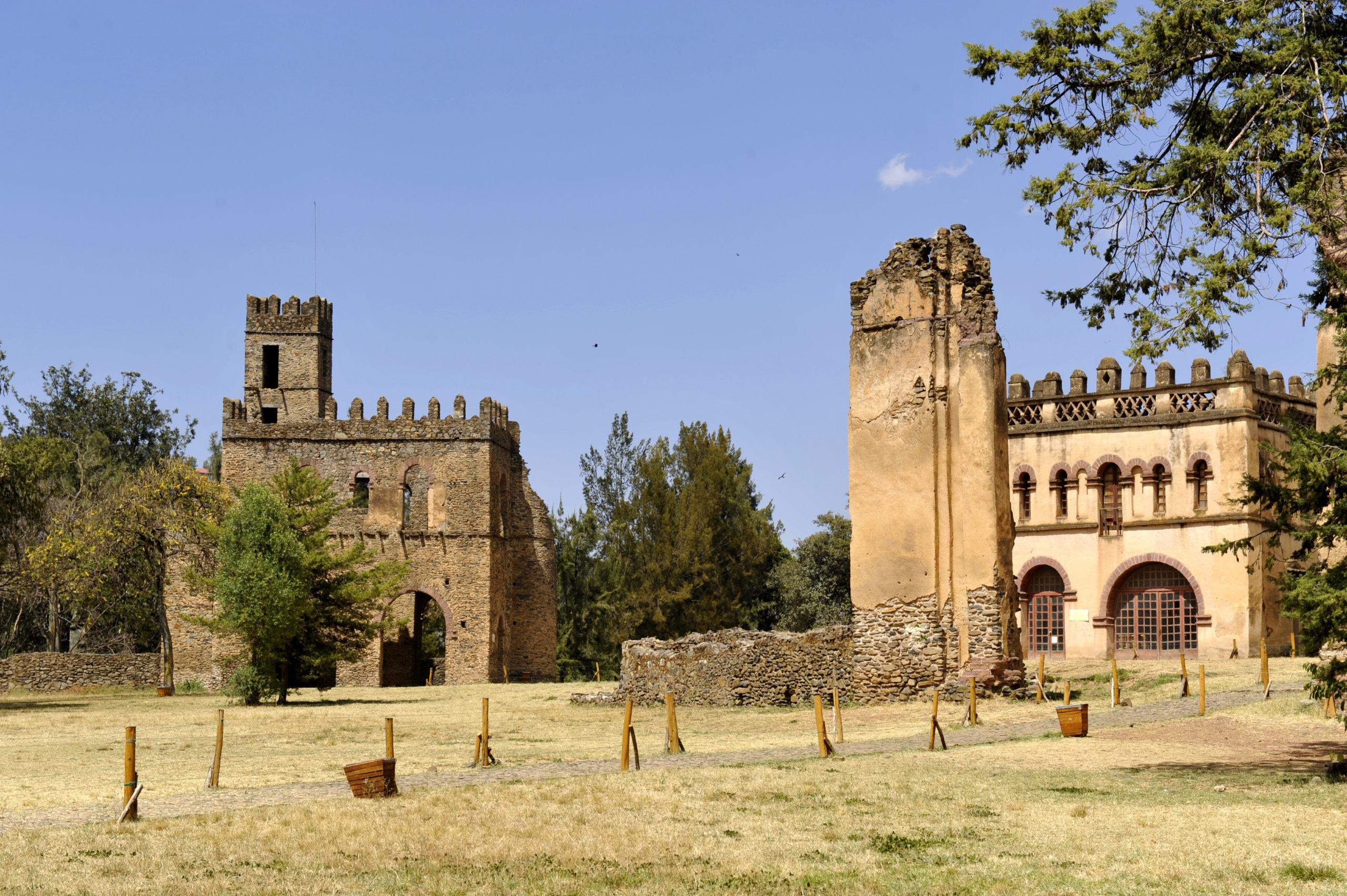Château de Fasiledes à Gondar