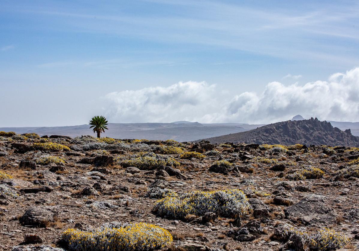Randonnée dans le massif du Guerralta