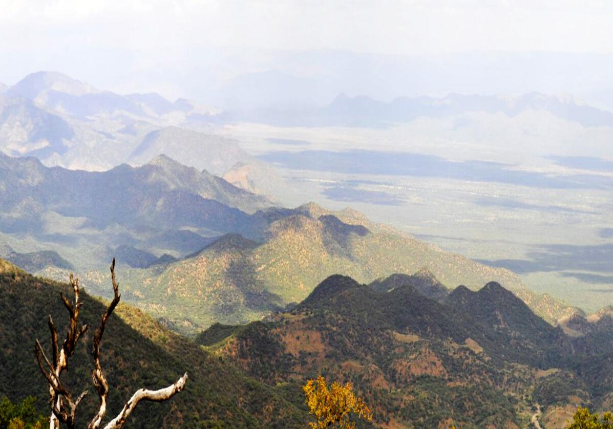 Paysages du massif du Wollo