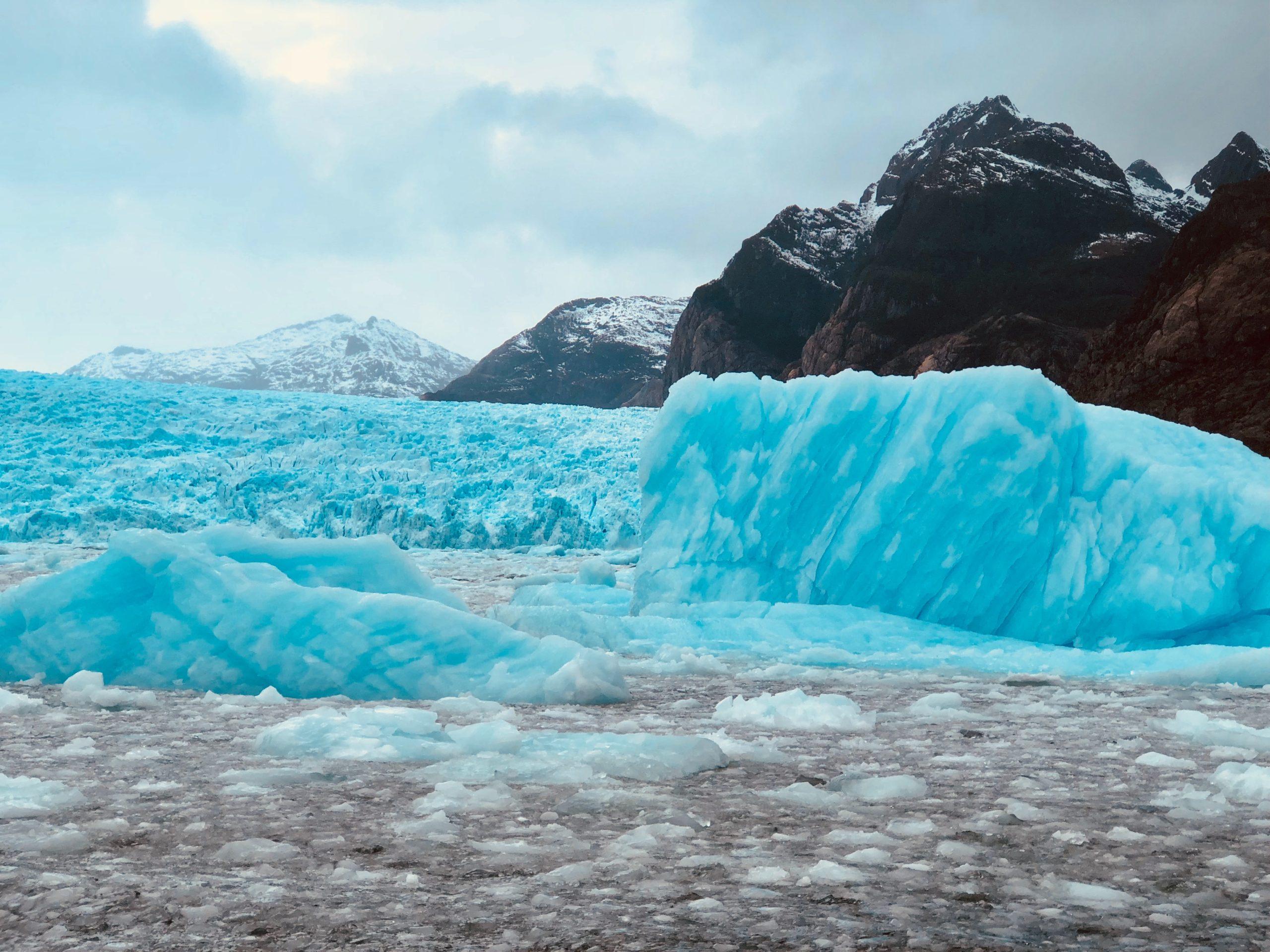 Le glacier Seranno à Puerto Natales