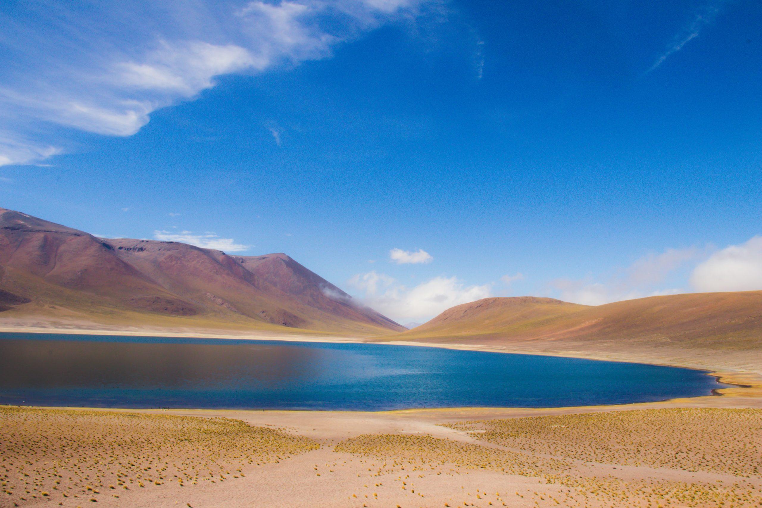 Paysage du lac Altiplanique de Meñiques
