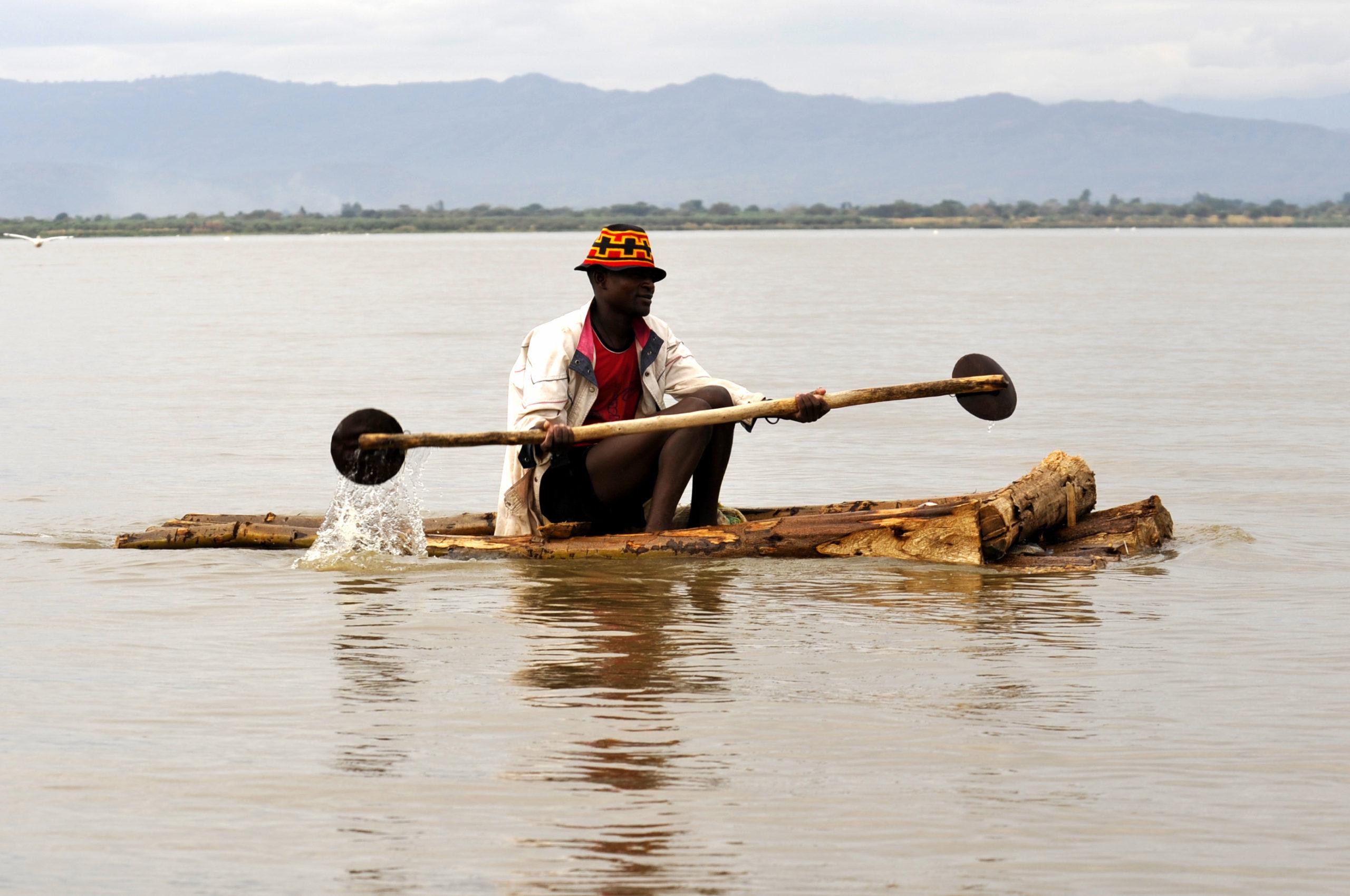 Lac Awassa dans la vallée du Rift