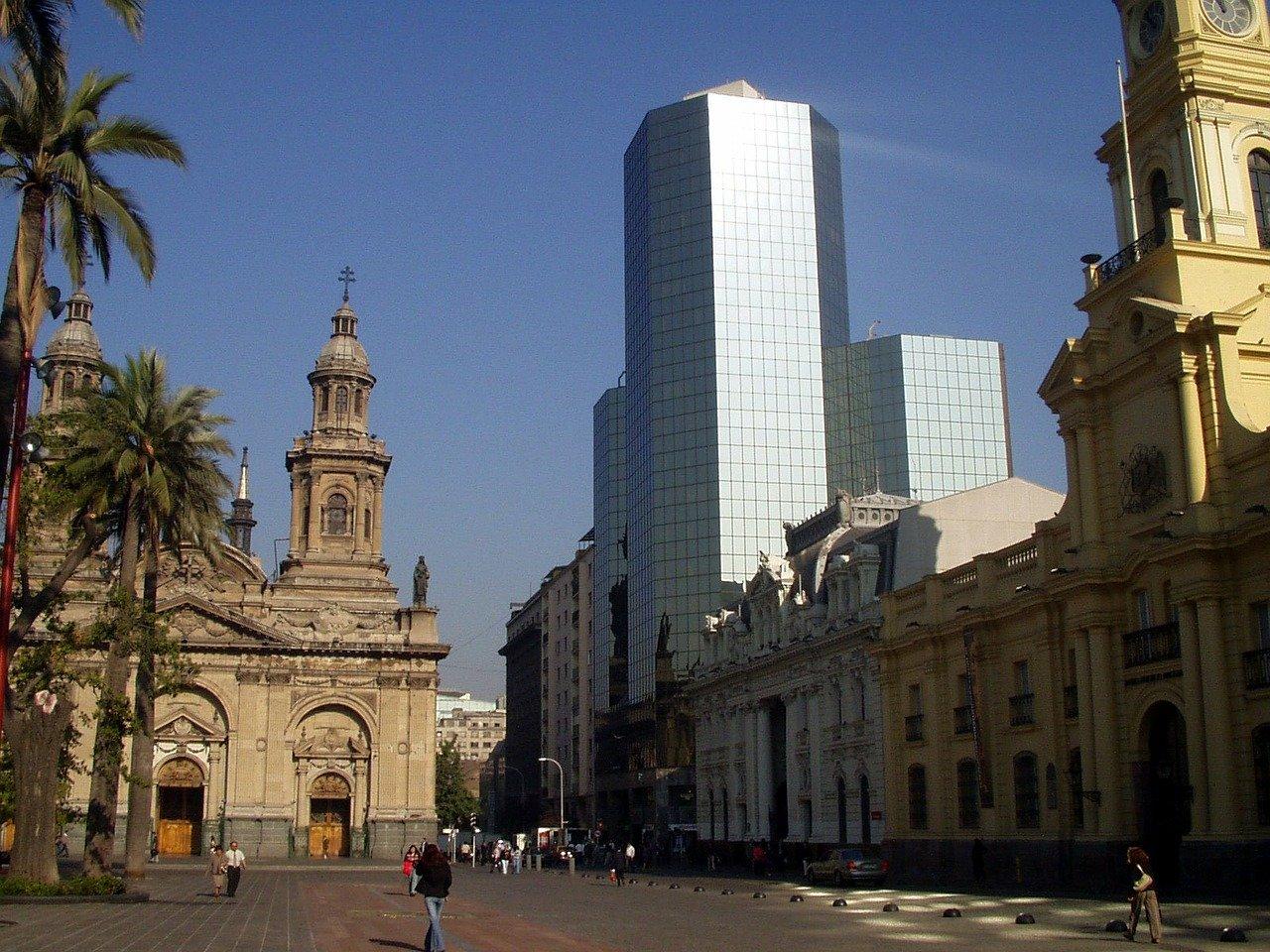 Place d'Armes à Santiago du Chili