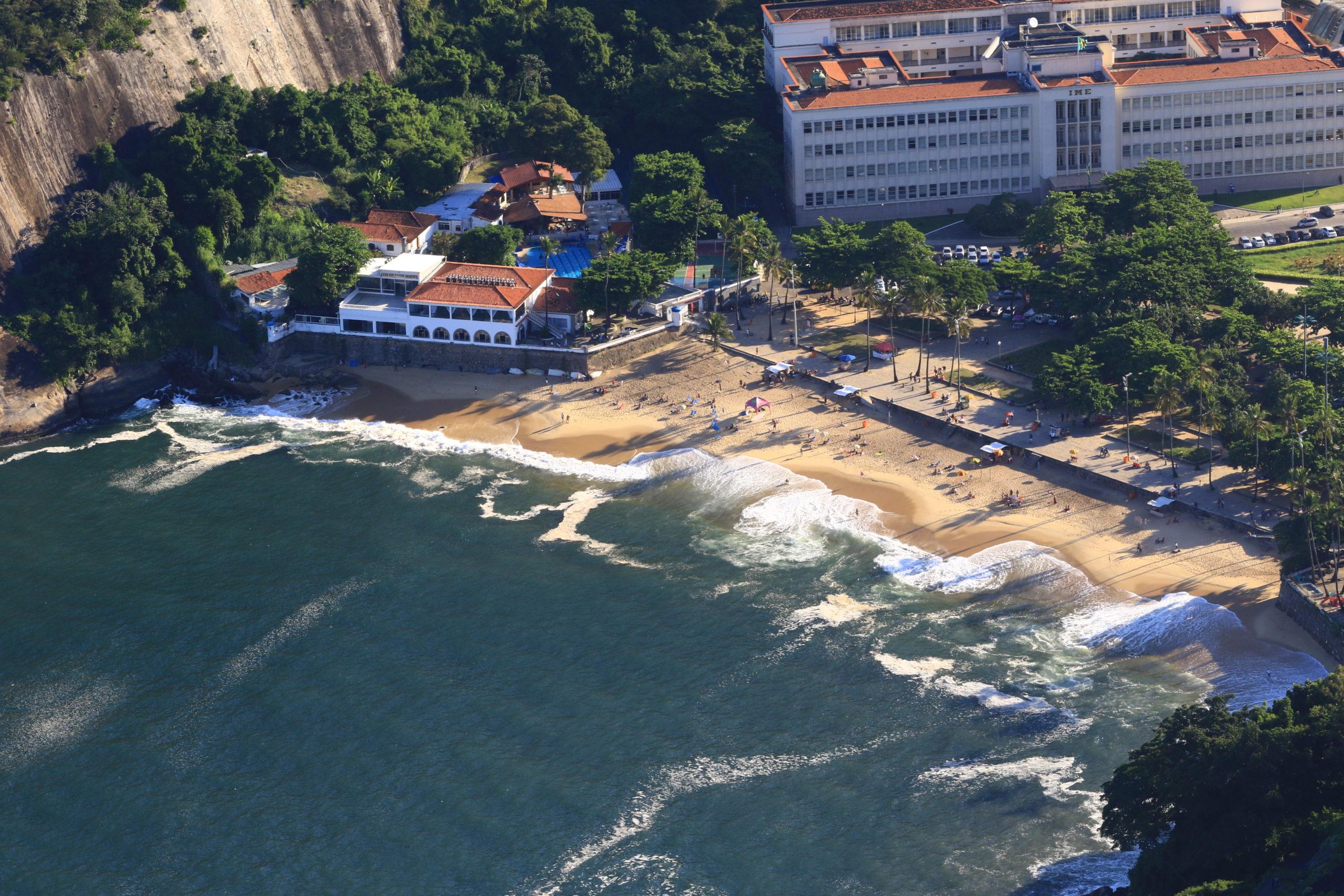 Détente sur les plages de Rio