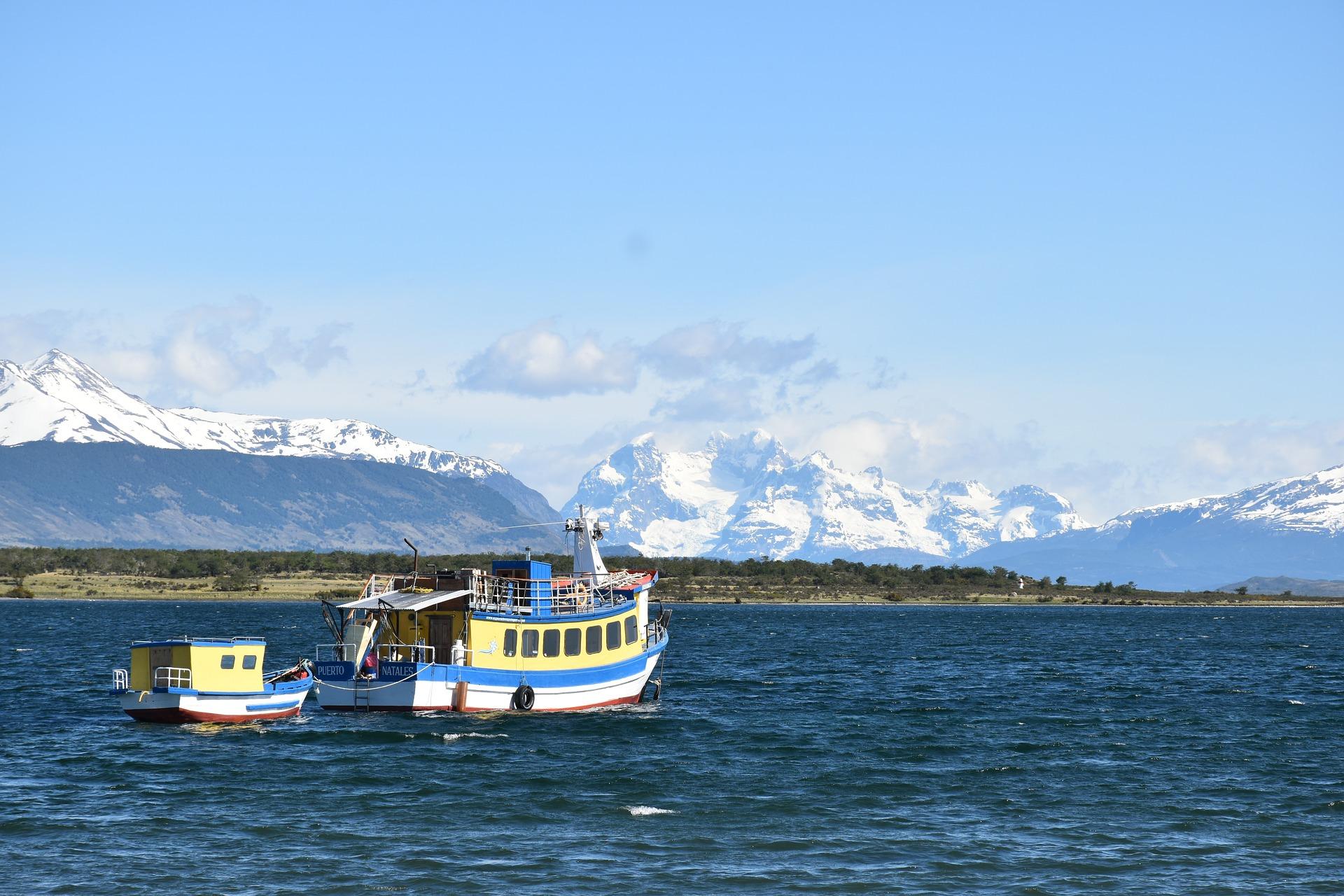 Canal Señoret à Puerto Natales