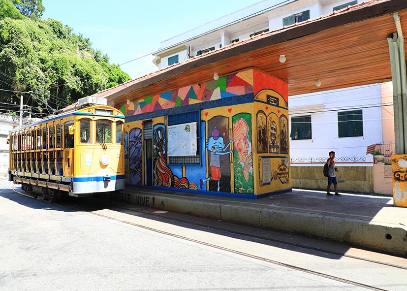 Quartier colonial de Santa Teresa à Rio