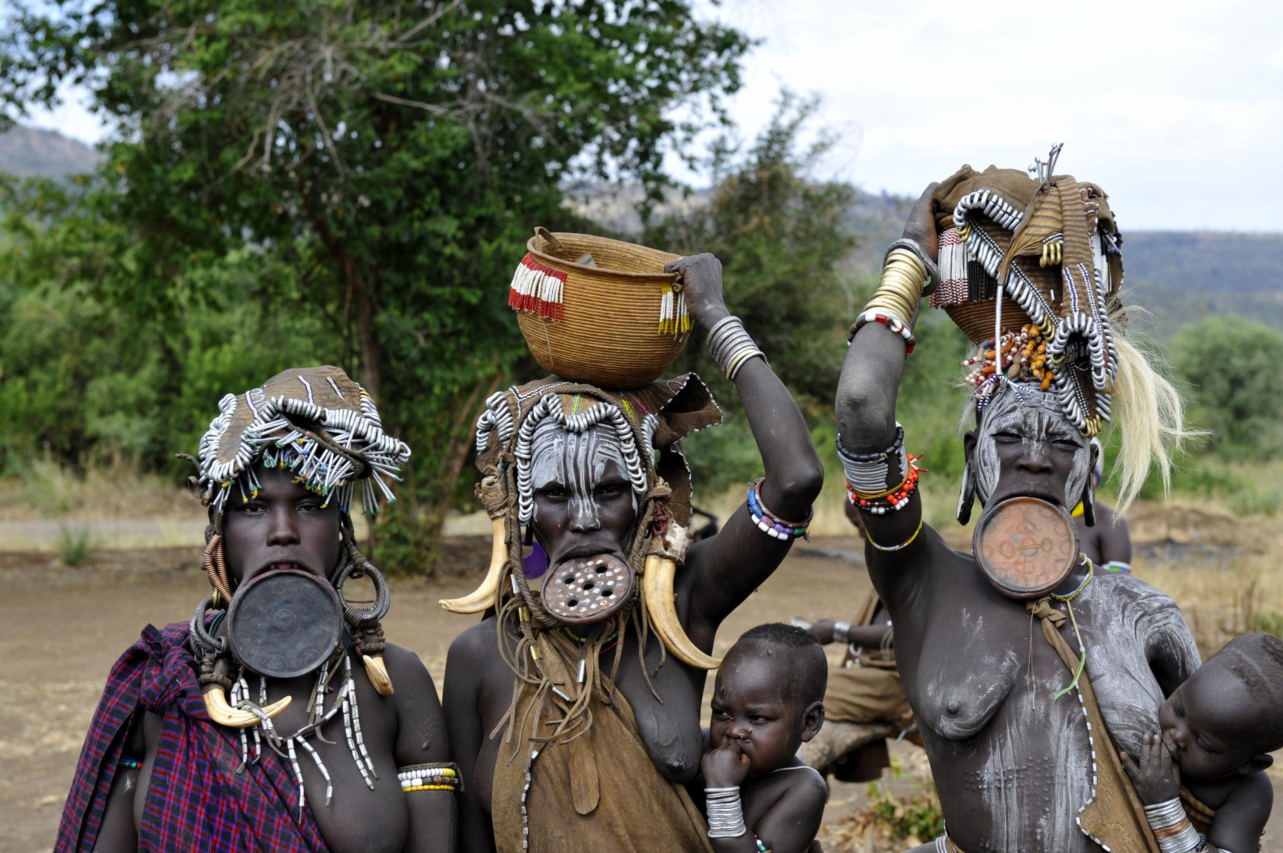 Rencontre avec la tribu Mursi dans le Parc Mago
