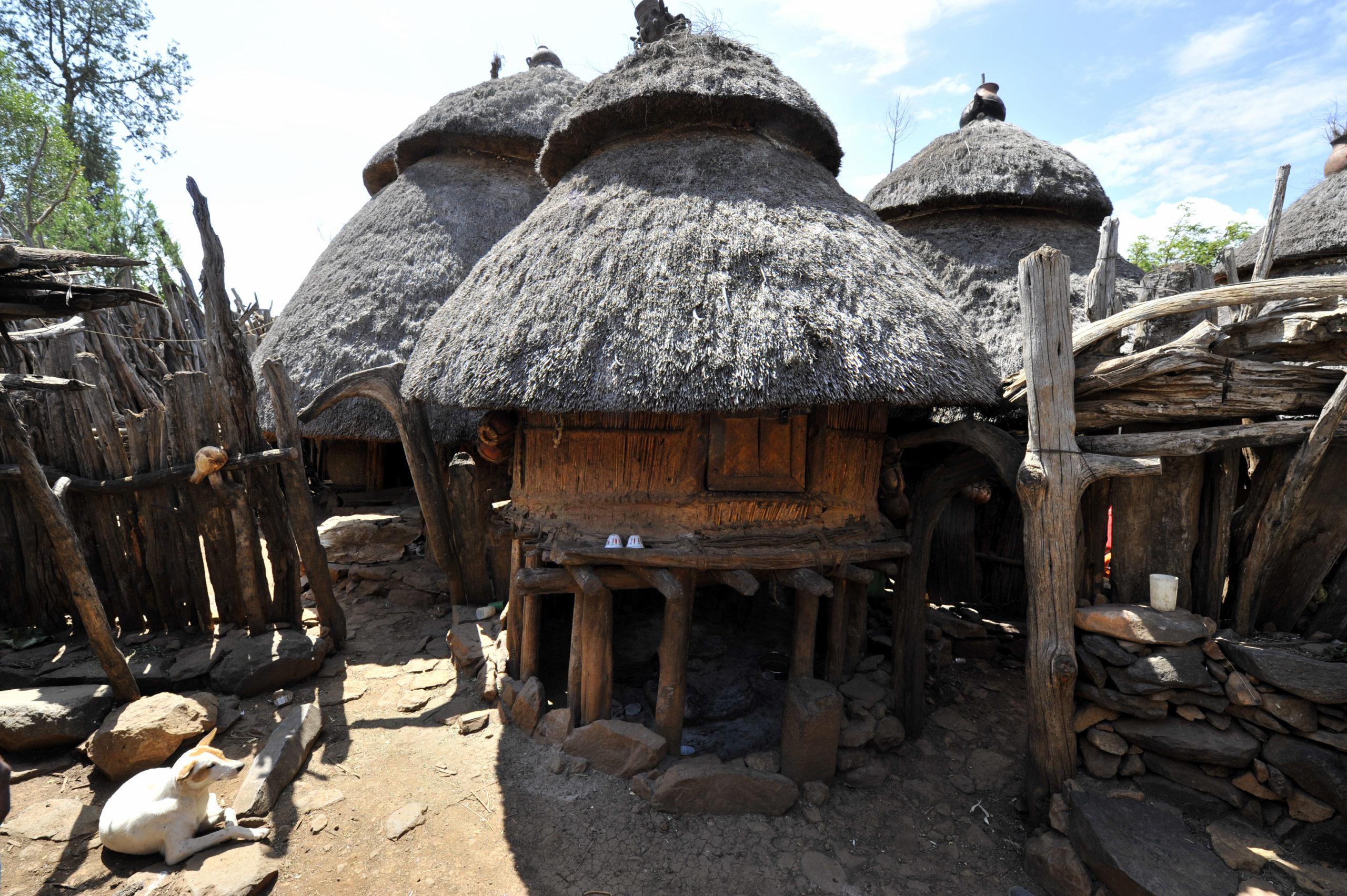 Village de la tribu Konso