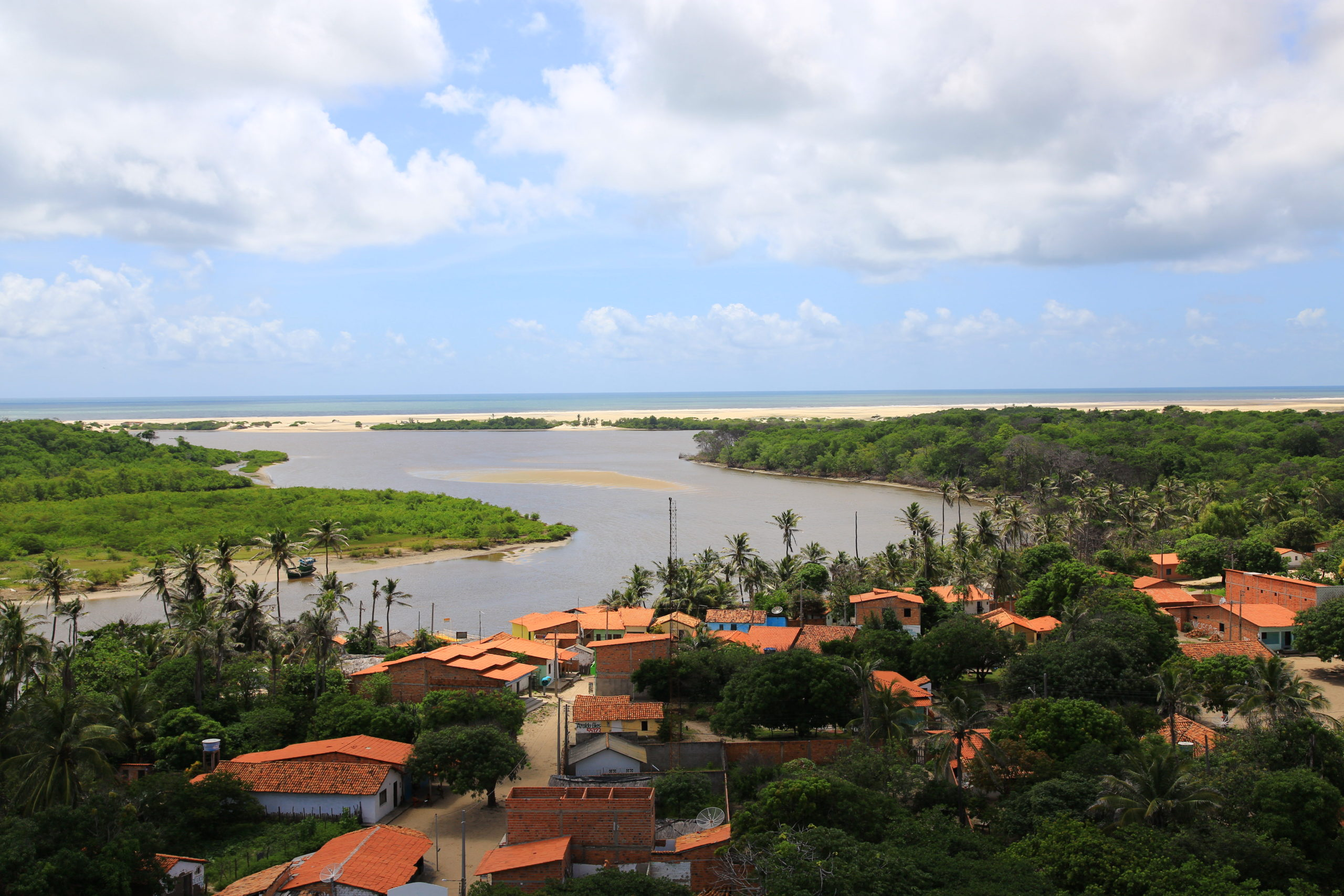 Vue panoramique de Mandacuru