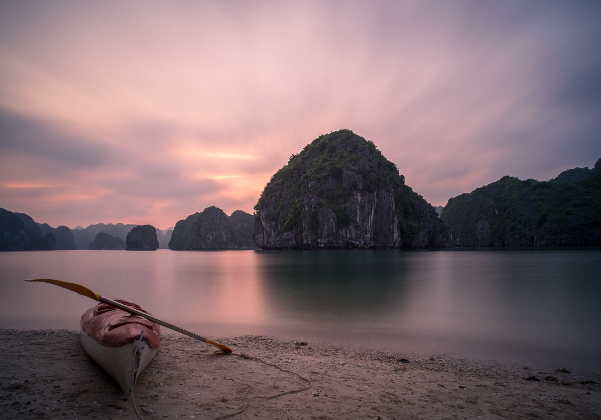 Traversée de la Baie de Lan Ha