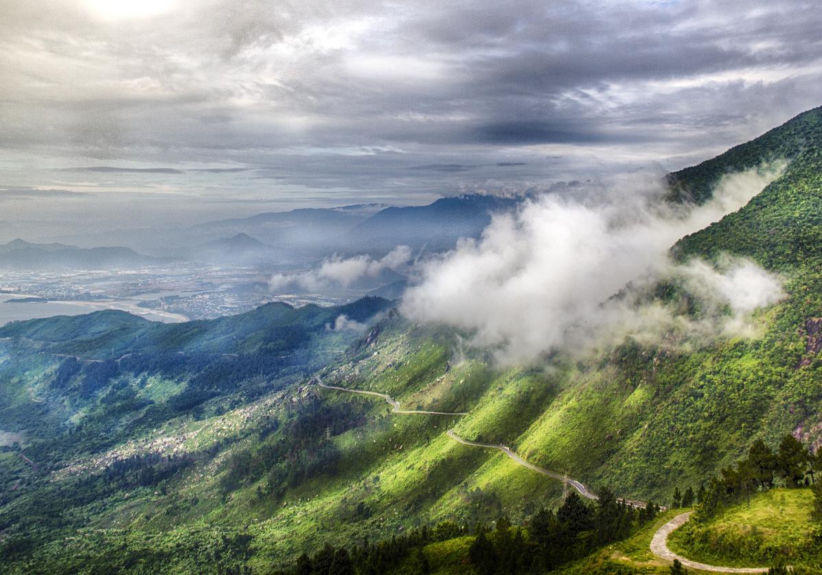 Les paysages du Col des Nuages