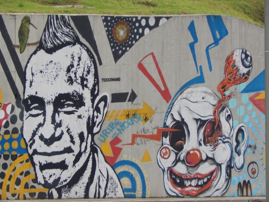 Les graffitis de la Candelaria de Bogota