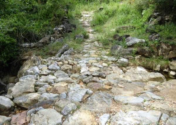 Marche sur le sentier Camino Real