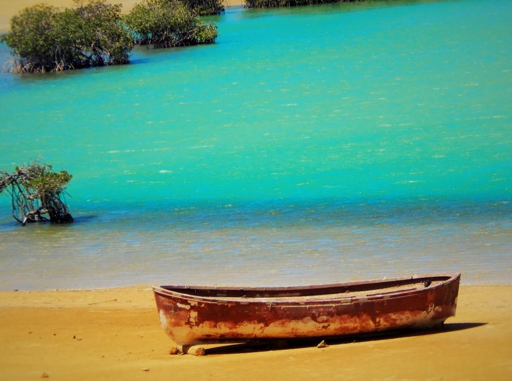 Bain et plage à Ojo de Agua