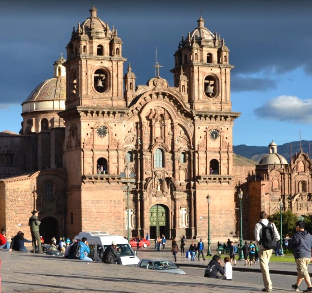 Ville de Gusco et sa cathédrale