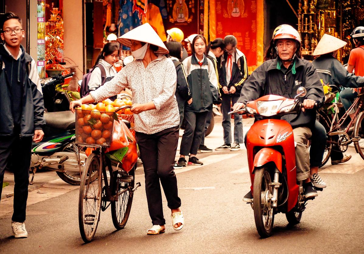 Balade dans les vieux quartiers d'Hanoi