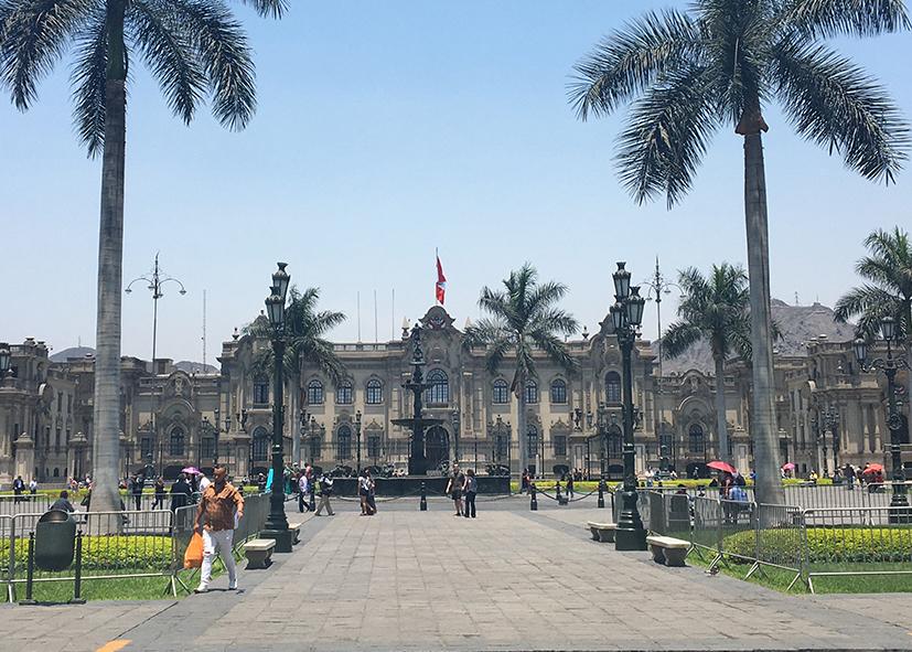 Lima, ses places, son quartier historique