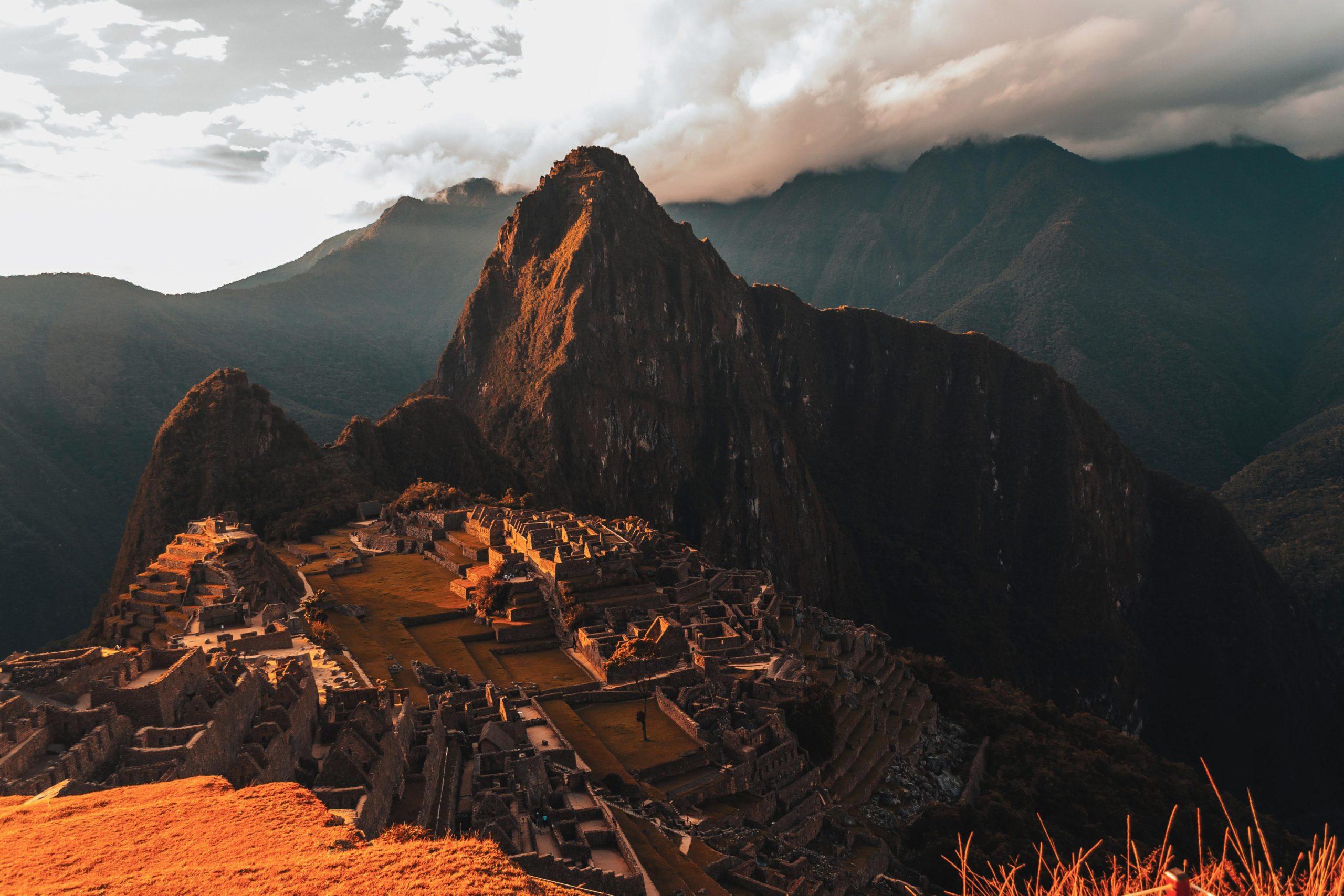 Machu Picchu et son superbe coucher de soleil