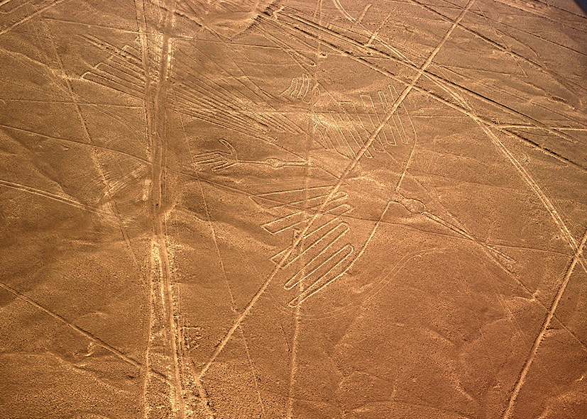 Les célèbres lignes de Nazca