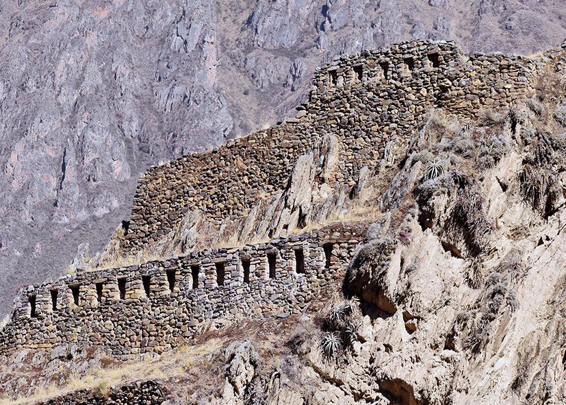 Forteresse Inca de Ollantaytambo